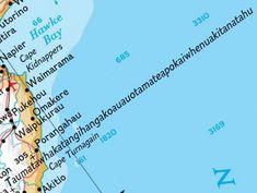 Taumatawhakatangihangakoauauotamateaturipukakapikimaungahoronukupokaiwhenuakitanatahu is the 85 letter Māori name for a hill, 305 metres high, overlooking Hawke Bay, New Zealand. Nz Art, Guinness World, Street Names, Place Names, Packing Tips For Travel, Travel Ideas, School Lessons, World Records, Funny Signs