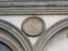 Firenze - Loggia dei Servi di Maria - Stemma Serviti.