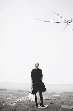#Płaszcz damski #topsecret w stylizacji od #rebellook Top Secret, Raincoat, Winter Jackets, Model, Tops, Fashion, Rain Jacket, Winter Coats, Moda