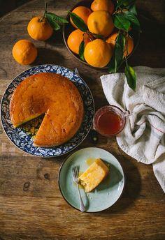 Orange & campari cake