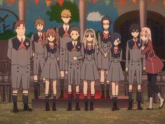 Imagen de anime, darling in the franxx, and hiro Anime Boys, Otaku Anime, Anime Art, Querida No Franxx, Koro Sensei, Nagisa Shiota, Familia Anime, Zero Two, Darling In The Franxx