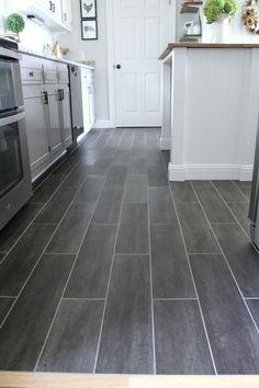 Luxury Vinyl Tile Kitchen Flooring 8