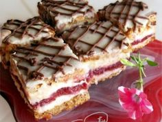 Sweet Desserts, Just Desserts, Delicious Desserts, My Recipes, Cookie Recipes, Good Food, Yummy Food, Romanian Food, Food Cakes