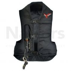 Point Two ProAir Adult Air JacketBlack. The Point Two ProAir is a lightweight, durable air vest which can be used for a variety of equestrian disciplines: from hacking and schooling to eventing and polo. The Point Two ProAir helps to distribute pressure, absorb shock and support the spinal column in the event of a fall. When inflated, the air bag system offers the collar of the neck and trunk more support, therefore reducing the risk of over bending the spinal column. The Air Jacket offers… Spinal Column, Blink Of An Eye, Size Clothing, Trunks, How To Wear, Jackets, Stuff To Buy, Bags, Bending