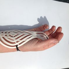 Peta Bush, Desktop 3D printed wrist support
