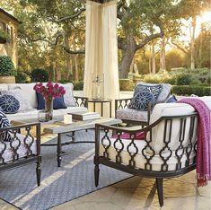 Kandrac & Kole Blog on Enjoyable Ways to Decorate Outdoors! #decorateoutdoorspatio