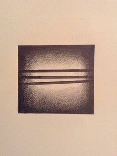 Horizontal Lines Graphite on Paper