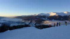 Monte Elmo Dolomites sunset