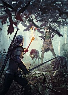 The Witcher 3: Wild Hunt Concept and Promo Art