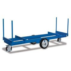 GTARDO.DE:  Langmaterialwagen, Tragkraft 3000 kg, Ladefläche 2500 x 600 x 420 mm, Maße 2500 x 720 x 1020 mm, Rad 350 / 200 mm 1 011,00 €