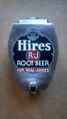 Vintage Hires Root Beer Syrup Dispenser  by TwoRiversTradingCo