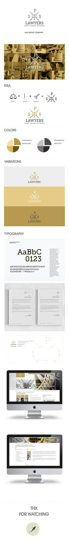 SPS Lawyers by Tomasz Trefler, via Behance