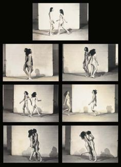 Marina Abramovic and Ulay/ Relation in Space Marina Abramovic, Natural Braids, African Hairstyles, Braided Hairstyles, Venice Biennale, Body Poses, Types Of Art, Fashion Books, Beautiful Artwork