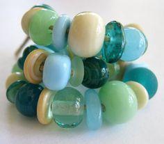 Lampwork Beads SRA Beach Mix