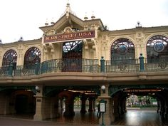 disneyland train station | Disneyland Paris - Disneyland Railroad Main Street Station