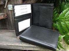 Fairtrade handmade leather wallet