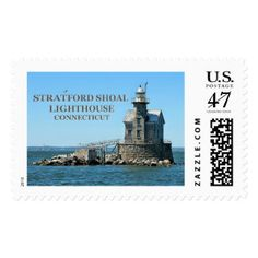 Stratford Shoal Lighthouse, Connecticut Postage