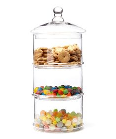 Look at this Large Three-Tier Canister on #zulily today!