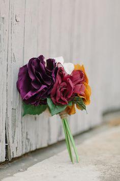 Mini Bouquet | Bridesmaid Bouquet | Handmade | Wedding Toss Bouquet | Silk Wedding Flowers | Alternative Bouquet | Keepsake Bouquet