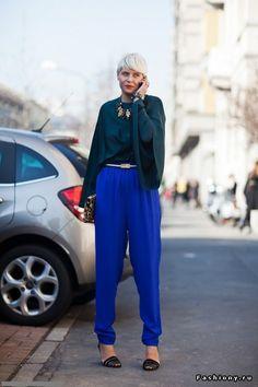 Street fashion from Milan (June)
