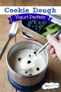 Cookie Dough Yogurt Parfaits Recipe