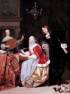 Gabriel Metsu. 1629-1667. Amsterdam. | Flickr - Photo Sharing!
