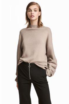 Pullover in maglia fine - Beige - DONNA | H&M IT 1