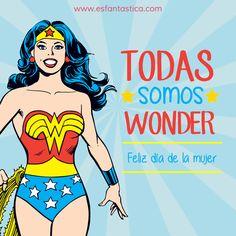 Hoy va por todas las mujeres luchadoras, valientes, trabajadoras, entusiastas, soñadoras...¡¡Sois Fantásticas!! ¡¡Feliz día de la mujer!!   #diadelamujer #8demarzo #felizdía  www.esfantastica.com