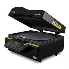 Lartuer Transferpresse 3D Sublimation Vakuum Wärmepresse Heat Press Machine Wärmeübertragung Auf Telefone Teller Tassen (3D Vakuum)