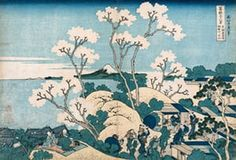 FOR GALLERY USE ONLY. The work of Japanese ukiyo-e artist Katsushika Hokusai, which will be displayed at the National Gallery of Victoria in 2017.