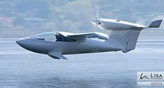 The Lisa Akoya is a plane which is just as comfortable on water - and even snow - as it is in the air.
