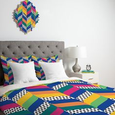 Juliana Curi Chevron 6 Duvet
