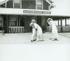 1916 Ladies Frolic At The Lookout Mountain Hotel, Just West Of Laurel Canyon Hollywood Sign, Old Hollywood, Los Angeles Hollywood, Lookout Mountain, Laurel Canyon, Mountain Photos, Good Music, Beverly Hills, Nostalgia