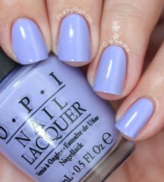 OPI: Spring 2013 Euro Centrale Collection Part 2 - Peachy Polish Cute Nails, Pretty Nails, Nail Time, Opi Nails, Nail Polishes, Shellac, Colorful Nail Designs, Nail Polish Colors, Opi Nail Polish Names
