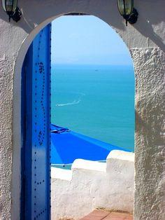 Le Café des Délices de Sidi Bou Said, Tunisie