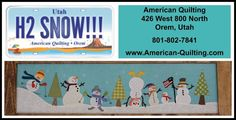 Utah - American Quilting in Orem  --  https://www.facebook.com/pages/American-Quilting/160057867348518