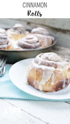 Homemade Cinnamon Rolls- If you haven't tried this cinnamon roll recipe, do yourself a favor and bake them today! They really are the BEST!