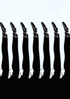Graphic Inspiration - Boys and Girls - Shigeo Fukuda - 1975