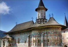 Painted Monasteries of Moldavia, Suceava, Moldovia, Romania