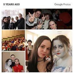 5 лет назад так давно и в другой жизни...