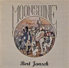 Bert Jansch Moonshine album cover