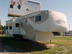 2004 Titan 36 BWKS Mobile Scout | Garrett Camper Sales in Indiana Rv Sales, Campers For Sale, Rv For Sale, Recreational Vehicles, Indiana, Board, Touring Caravans For Sale, Sign