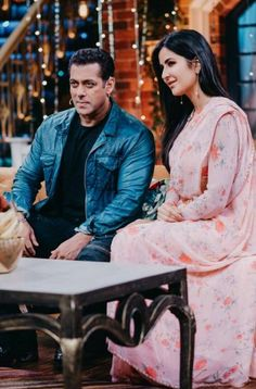 In a recent Kapil Sharma show, two mega Bollywood stars Katrina Kaif and Salman Khan came to promote their upcoming movie Bharat. Both big stars had their fun-loving time on the sets and the pictures revolving around the internet are proof of it. Bollywood Movie Songs, Bollywood Cinema, Bollywood Stars, Bollywood Updates, Bollywood Actress, Indian Celebrities, Bollywood Celebrities, Upcoming Movies, New Movies