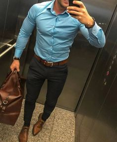 Formal Office Outfits for Men Indian Men Fashion, Mens Fashion Suits, Mens Suits, Outfit Hombre Formal, Formal Men Outfit, Formal Dresses For Men, Men Formal, Stylish Mens Outfits, Business Casual Outfits