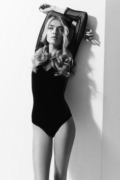 British model Joanna Halpin