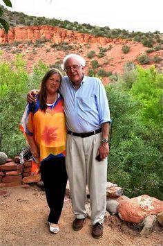 "FUN FACT: Jane Sanders has a PhD. in Sociology - so we can look forward to saying ""President & Dr. Sanders."""