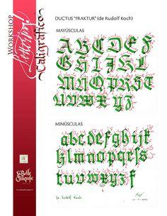 Wilhelm Klingspor Schrift #gothic calligraphy #blackletter