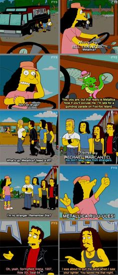 Metallica RU-U-ULES! One of my favorite Otto moments.  // funny pictures - funny photos - funny images - funny pics - funny quotes - #lol #humor #funnypictures