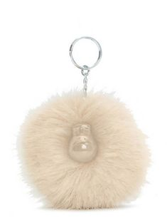 Soft and fuzzy, made with faux fur (of course! Kipling Monkey, Faux Fur, Handbags, Drop Earrings, Accessories, Jewelry, Monkeys, Stationery Shop, Dreams