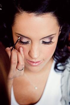 like the bridal makeup idea